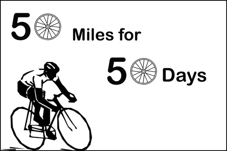 50 miles a day, cycling with julian porter, JPCC